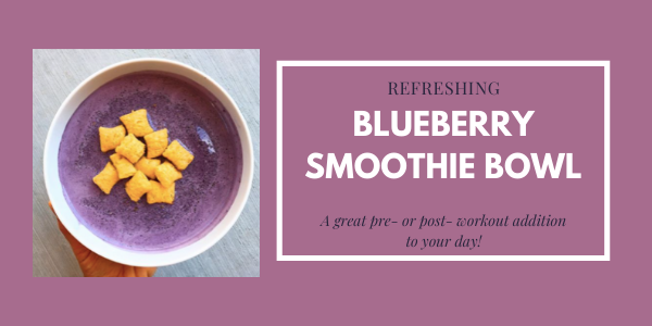 blueberry almond milk smoothie