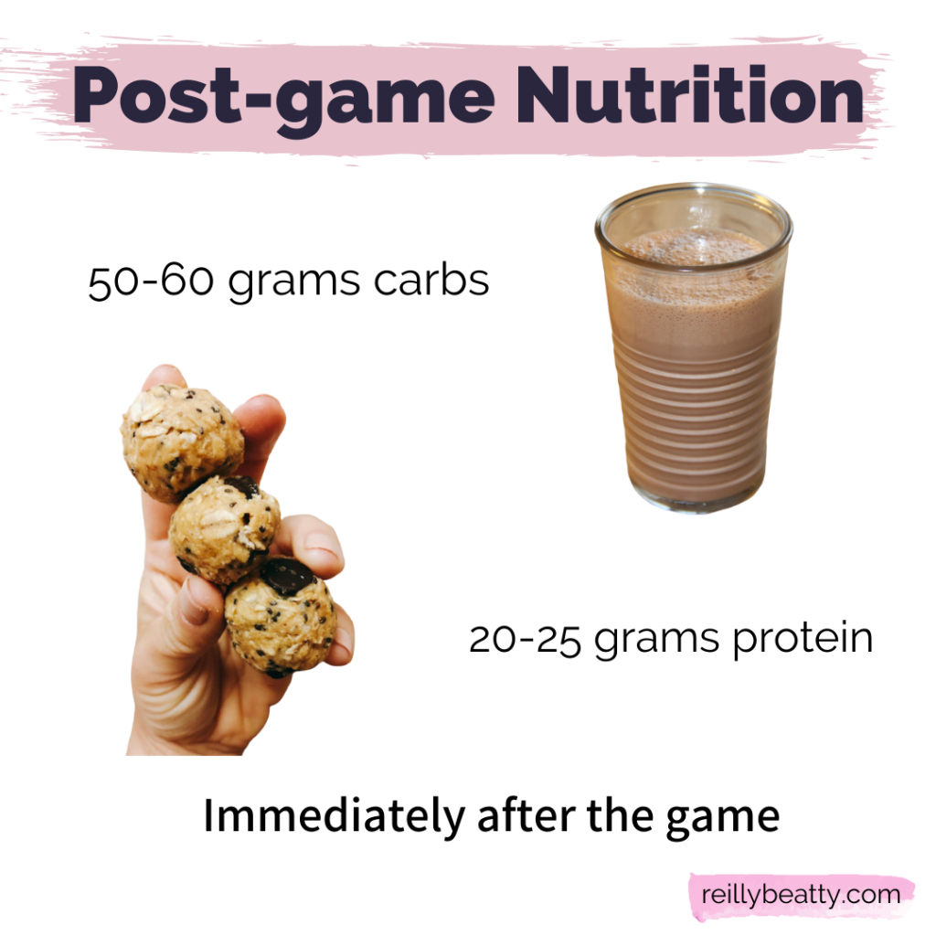 post-game nutrition