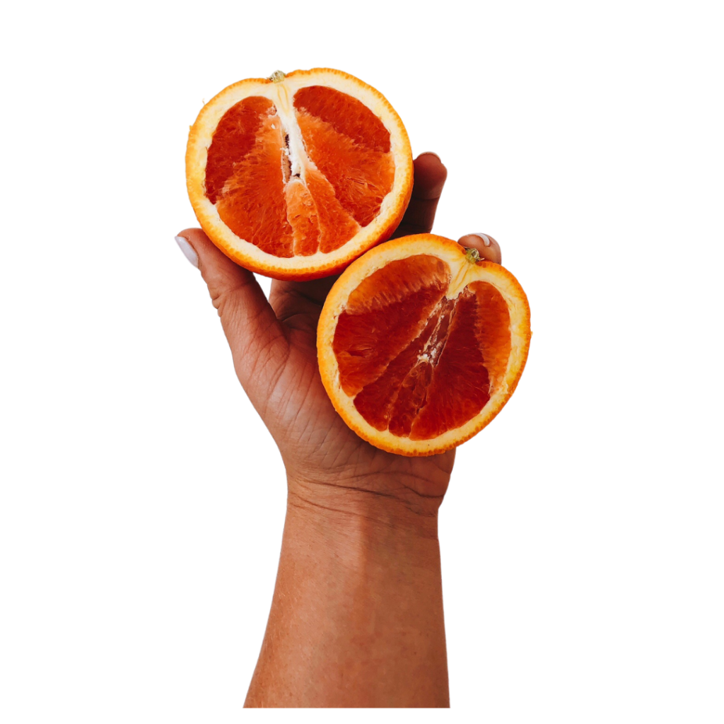 frozen oranges for halftime